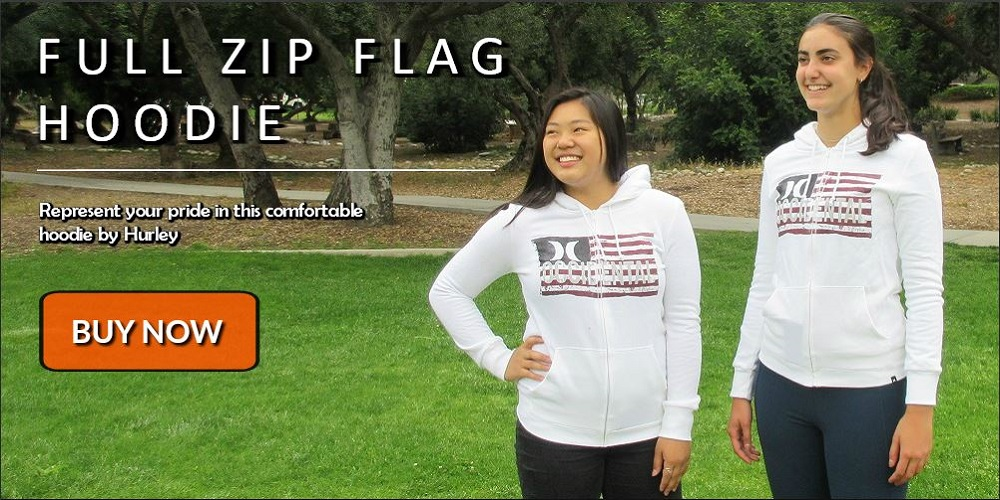Full flag zip hoodies are now 50% off. Get yours now!