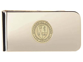 Money Clip With Occidental College Seal