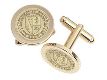 Cufflinks With Occidental College Seal