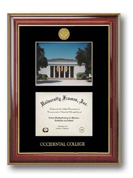 Frame Oxy Diploma Double W/ Medallion Drop Ship
