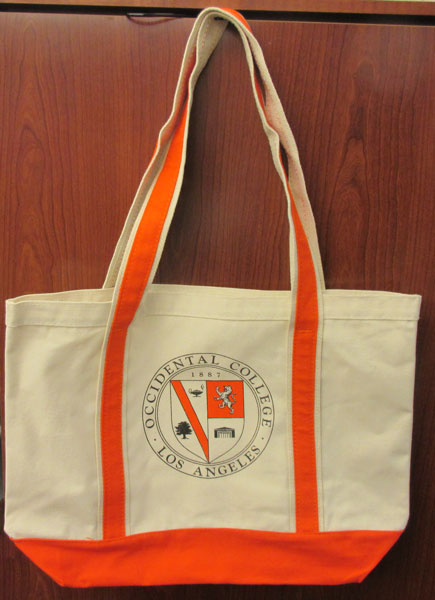 Canvass Boat Tote With Oxy Seal