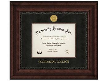 diploma frame executive w black suede mat - Diploma Frames