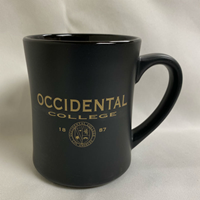 Mug Black Matte Finish W/ Oc Seal Gold Imprint