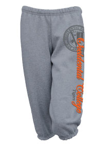 Crop Sweatpants Grey Vertical Ll Oc La Tiger W/ Seal (SKU 1161421023)