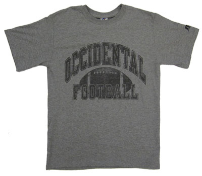 T-Shirt Occidental Football W/ Football Graphic Oxford