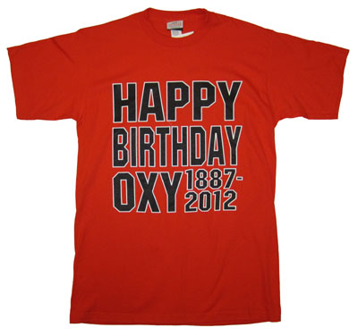 T-Shirt Happy Birthday Oxy