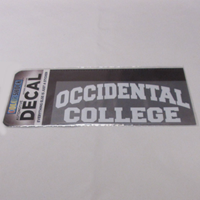 Decal Occidental Arched Over College White Block