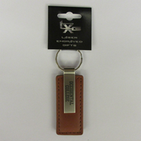 KEY CHAIN LEATHER KEY TAG