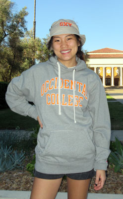 Hooded Sweatshirt Occidental College