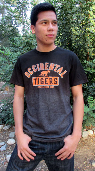 T-Shirt Dip Dye Occidental Tigers