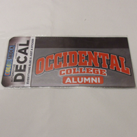 Decal Alumni Occidental College Color Shock