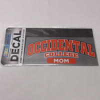 Decal Mom Occidental College Color Shock