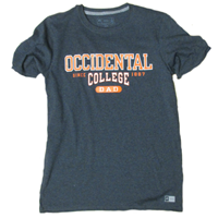 Dad Crewneck T-Shirt Occidental 1887 Charcoal Grey