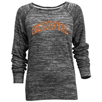 WOMENS CAREFREE CREW W/ OCCIDENTAL