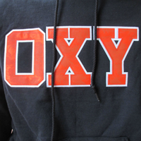 SWEATSHIRT HOODED OXY PALM OXFORD