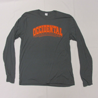 Long Sleeve T-Shirt Occ Arched Dark Smoke Grey