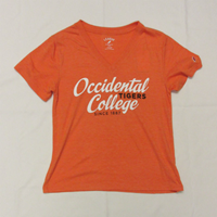 T-Shirt Intramural Boyfriend V Tee Oc Tigers Since 1887 Heather Orange