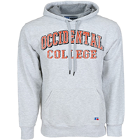 Sweatshirt Hooded Occidental College Distressed