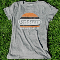 T-Shirt Occidental Los Angeles Circle Sunset